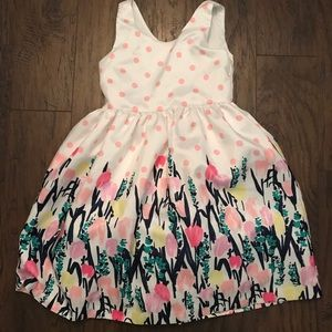 Gymboree Girls 5T Floral Dress